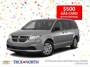 $500 Gas Card with Purchase!