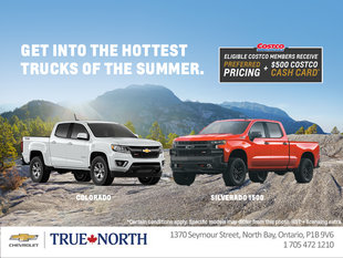 Get into the Hottest Trucks of the Summer & Receive a $500 Costco Cash Card!