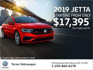 2019 VW JETTA STARTING AT $17,395!*