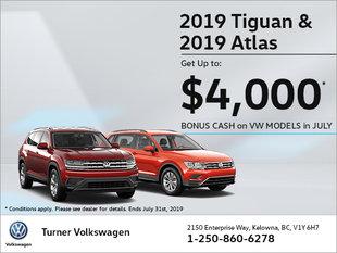 Tiguan & Atlas SPECIAL