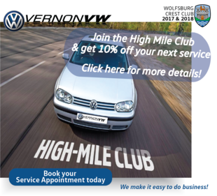High mileage discount – 10% discount on vehicles over 200,000kms!