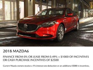 VIP Mazda - 2018 Mazda 6