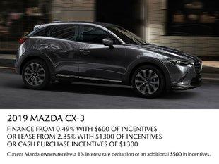 VIP Mazda - 2019 CX3