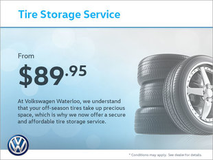 Store Your Tires From $89.95!
