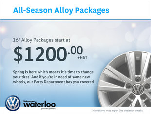 All-Season Alloy Packages