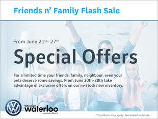 Friends n Family Flash Sale