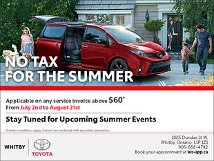 No Tax for the Summer!