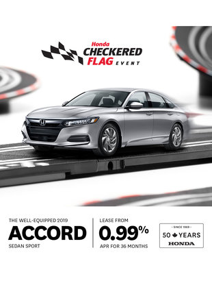 Accord - Checkered Flag Event