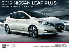 The All-New 2019 LEAF PLUS
