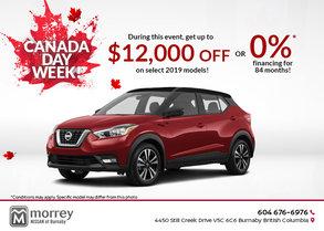 Canada Day Week at Morrey Nissan Burnaby!