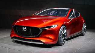 Mazda Kai and Mazda Vision Coupe unveiled in Tokyo