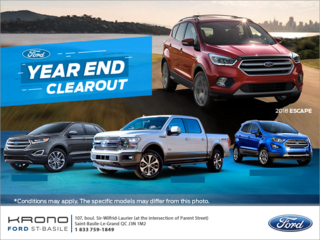 Ford's Year End Clearout!