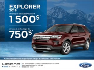 Ford Explorer 2019!