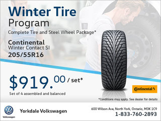 205/55R16 Tire Package