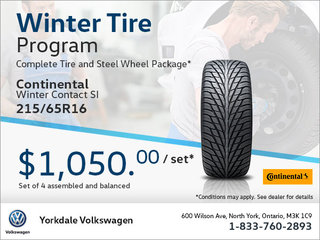 215/65R16 Tire Package