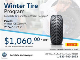 215/65R17 Tire Package
