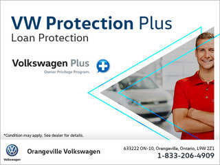 Get Loan Protection with Volkswagen Protection Plus!