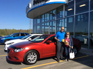 Belle journée! de Prestige Mazda à Shawinigan