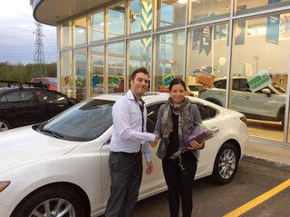Merci pour les fleurs!!! de Prestige Mazda à Shawinigan