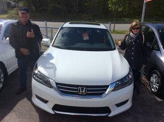 Beaucoup de respect du vendeur de Avantage Honda à Shawinigan