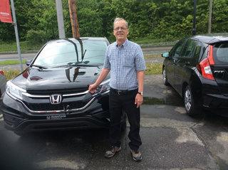 On aime notre Honda CR-V LX! de Groupe Vincent à Shawinigan et Trois-Rivières