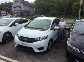 Une belle Fit 2015 pour l'été! de Avantage Honda à Shawinigan
