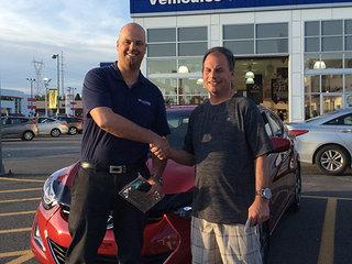 Excellent!! 10/10 de Hyundai Trois-Rivières à Trois-Rivières