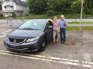 Enfin l'été à bord de ma nouvelle Civic! de Avantage Honda à Shawinigan