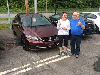 3e expérience client chez Avantage Honda de Groupe Vincent à Shawinigan et Trois-Rivières