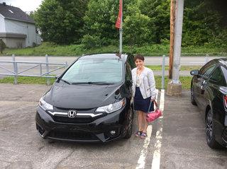 Ma Honda Fit : une vraie petite limousine! de Groupe Vincent à Shawinigan et Trois-Rivières