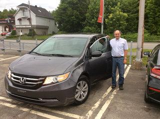 Merci pour ma Honda Odyssey! de Groupe Vincent à Shawinigan et Trois-Rivières