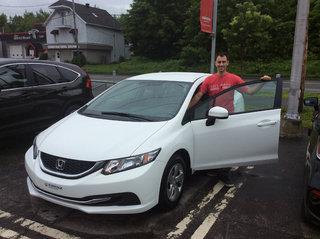 Encore une Honda Civic! de Groupe Vincent à Shawinigan et Trois-Rivières