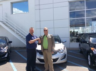Très heureux de ma nouvelle voiture! de Hyundai Trois-Rivières à Trois-Rivières