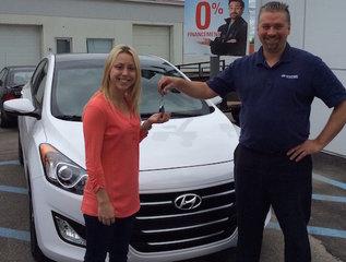 100% satisfaite! de Hyundai Trois-Rivières à Trois-Rivières