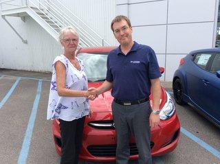 Une cliente fidèle : 4ème Hyundai! de Hyundai Trois-Rivières à Trois-Rivières