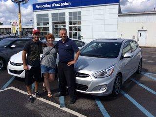 Un très bon service! de Hyundai Trois-Rivières à Trois-Rivières