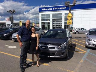 Une 1ère Hyundai! de Hyundai Trois-Rivières à Trois-Rivières