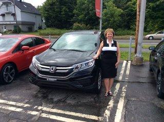Ma 2e Honda et j'en suis fière! de Avantage Honda à Shawinigan