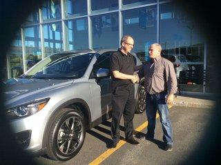 Une très belle expérience d'achat! de Prestige Mazda à Shawinigan