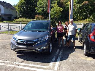 Des clients de Trois-Rivières heureux! de Avantage Honda à Shawinigan