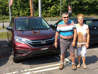 Un beau CR-V rouge : Wow! de Avantage Honda à Shawinigan