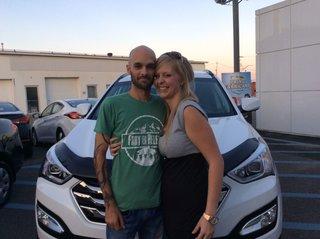 Un gros merci à vous 2! de Hyundai Trois-Rivières à Trois-Rivières