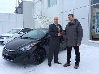 Hyundai Elantra 2016 de Hyundai Trois-Rivières à Trois-Rivières