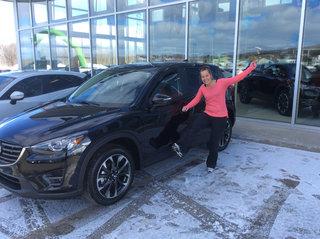 Super heureuse! de Prestige Mazda à Shawinigan
