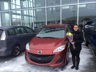 Un beau petit cadeau de Prestige Mazda à Shawinigan