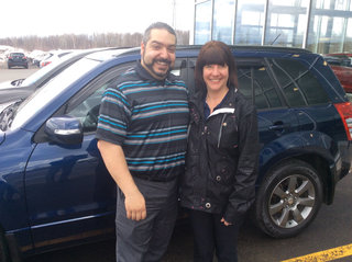 La madame est contente! de Prestige Mazda à Shawinigan