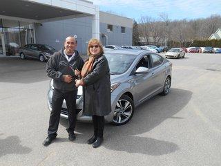 Mon Elantra 2012! de Groupe Vincent à Shawinigan et Trois-Rivières