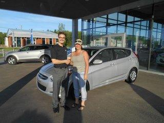 Hyundai accent 2016 de Groupe Vincent à Shawinigan et Trois-Rivières