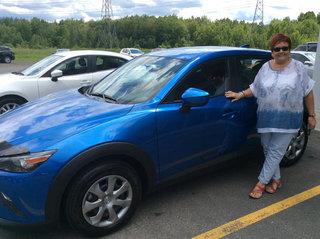 Une vente sans pression! de Prestige Mazda à Shawinigan