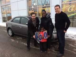 Le 600e client satisfait!!!! de Groupe Vincent à Shawinigan et Trois-Rivières